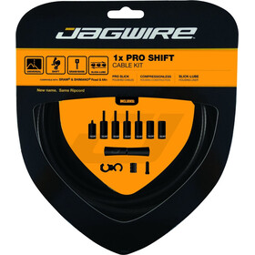 Jagwire 1X Pro Shift Set de câble de dérailleur, stealth black